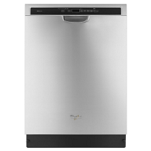 Fingerprint-Resistant Stainless Steel Dishwasher with Sensor Cycle