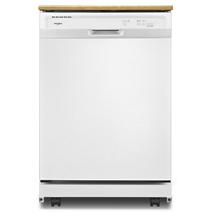 Lave-vaisselle robuste Whirlpool® avec programme de lavage en une heure