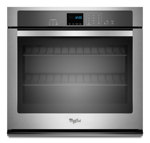 50 Cu Ft Single Wall Oven With Extra Large Window Whirlpool