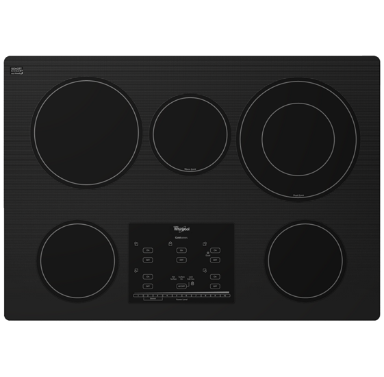 Gold 174 Series 30 Inch Electric Ceramic Glass Cooktop With