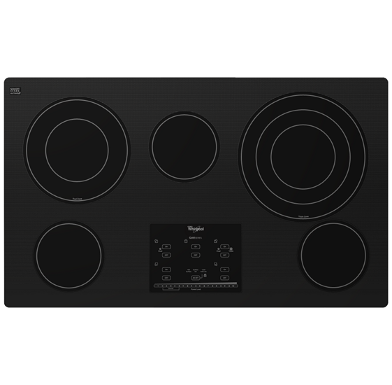 Gold® 36-inch Electric Ceramic Glass Cooktop With Tap