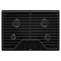 Whirlpool® 30 inch Gas Cooktop with Multiple SpeedHeat™ Burners