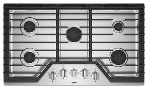 Table de cuisson au gaz, grilles en fonte EZ-2-Lift™, 36 po