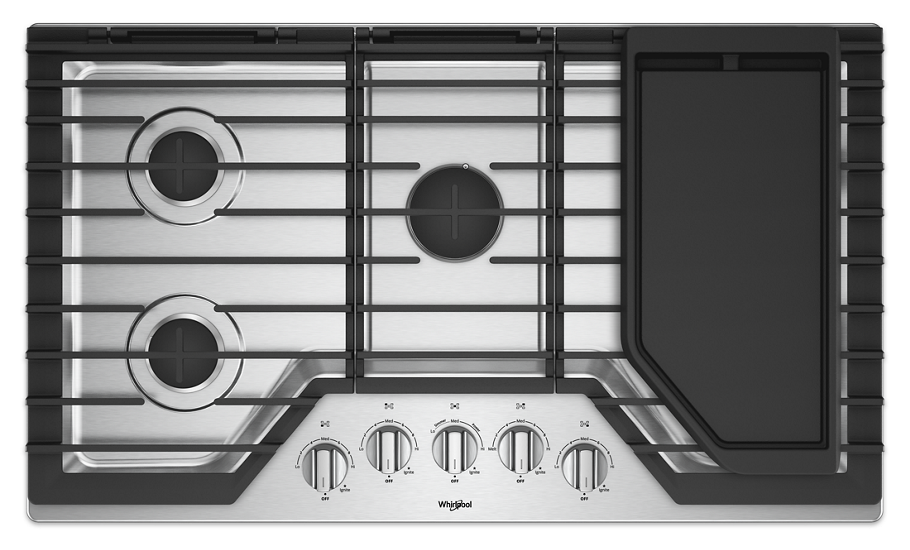 gas cooktop with griddle. Features Gas Cooktop With Griddle