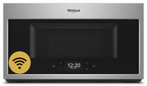 1.9 cu. ft. Smart Over-the-Range Microwave with Scan-to-Cook technology<sup>2</sup>