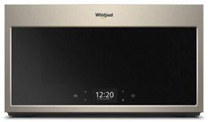 Four à micro-ondes à hotte intégrée intelligent avec cuisson à étapes multiples, 1,9 pi³