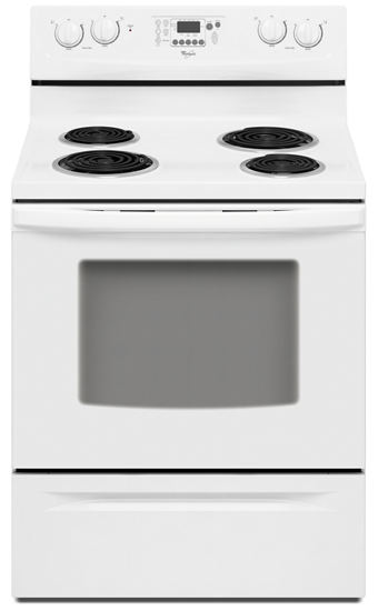 30 Inch Self Cleaning Freestanding Electric Range Whirlpool