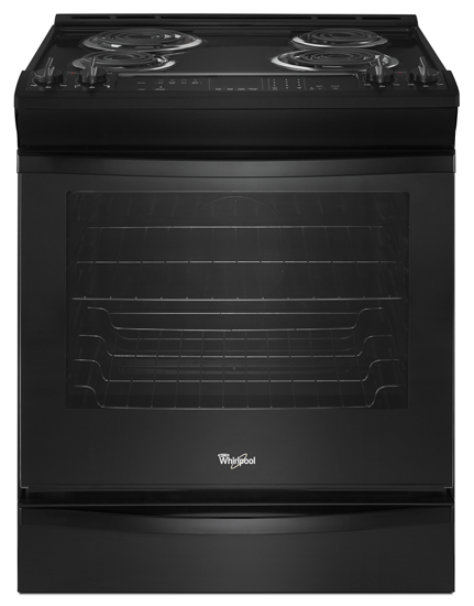 6 2 cu ft front control electric range with accubake system rh whirlpool com Whirlpool Accubake Oven Ignitor Whirlpool Gas Range Parts