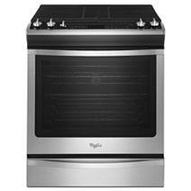 Whirlpool 5.8 cu. ft. Front-Control Gas Range with TimeSavor™ Convection