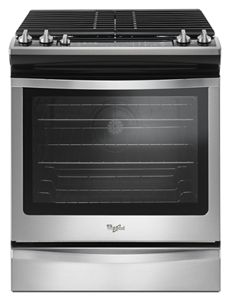5.8 Cu. Ft. Slide-In Gas Range with EZ-2-Lift™ Hinged Grates