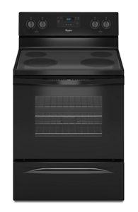 black 4 8 cu ft freestanding electric range with flexheat Whirlpool Rf362lxsq Wiring Schematic
