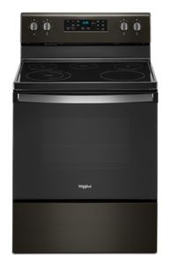 5.3 cu. ft. Whirlpool® electric range with Frozen Bake™ technology.
