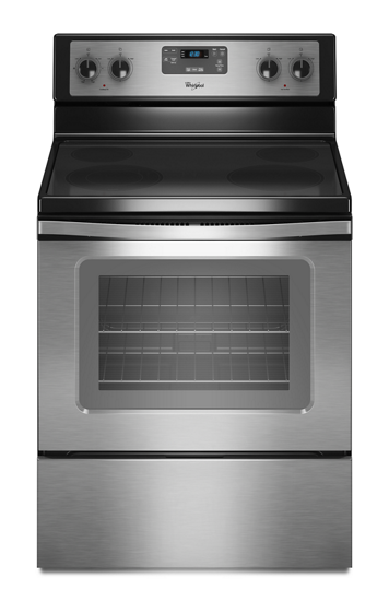 4 8 cu ft capacity electric range with self cleaning system  whirlpool electric range wiring diagram wfe510s0aw #4