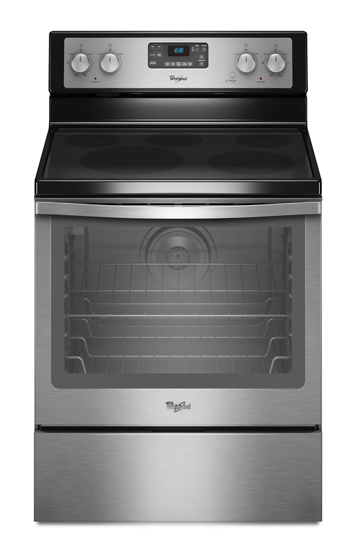 62 Cu Ft Capacity Electric Range With Aqualift Self Clean