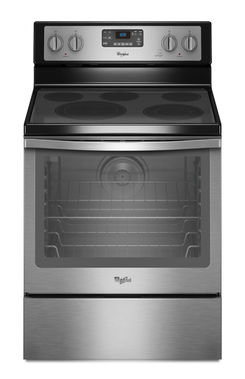 6 4 Cu Ft Freestanding Electric Range With Aqualift