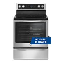 6.4 Cu. Ft. Freestanding Electric Range with Fingerprint-Resistant Stainless Steel