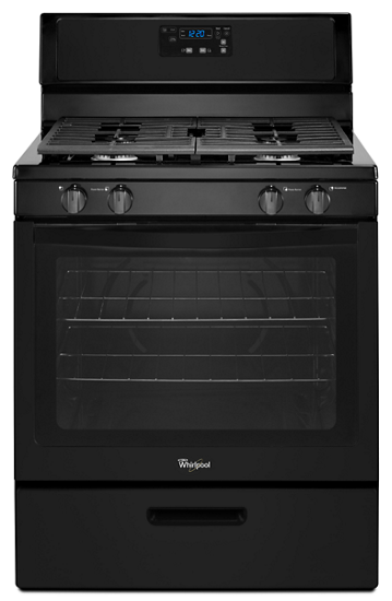 5 1 cu ft freestanding gas range with under oven broiler whirlpool rh whirlpool com Whirlpool Accubake Oven Manual whirlpool accubake oven user manual