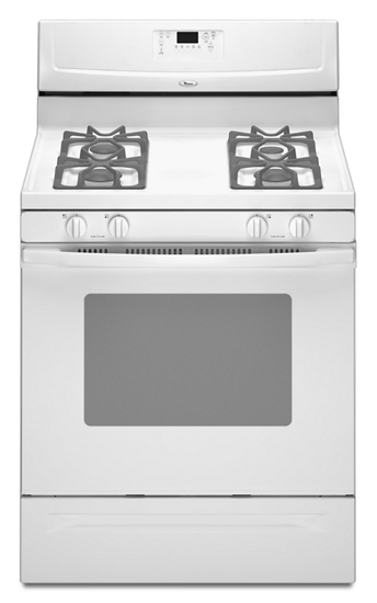 30 Inch Self Cleaning Freestanding Gas Range Whirlpool