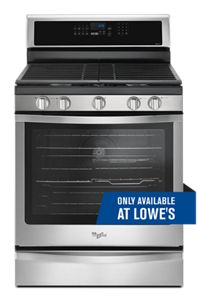 5.8 Cu. Ft. Freestanding Gas Range with Fingerprint-Resistant Stainless Steel