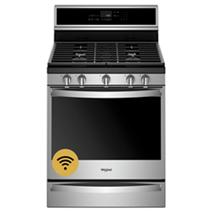 Cuisinière au gaz intelligente avec grilles EZ-2-Lift™, 5,8 pi³
