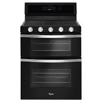 6.0 Cu. Ft. Gas Double Oven Range with EZ-2-Lift™ Hinged Grates