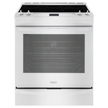 Whirlpool 6.2 cu. ft. Front-Control Electric Stove with TimeSavor™ Convection
