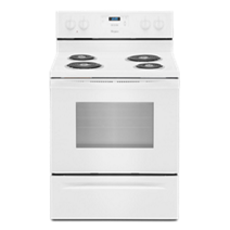 Whirlpool® 4.8 Cu. Ft. Freestanding Counter Depth Electric Range
