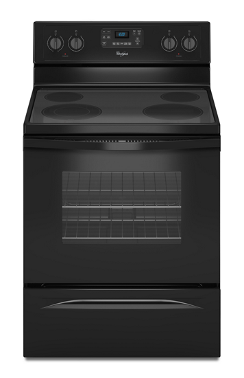 Whirlpool 174 5 3 Cu Ft Freestanding Electric Range With