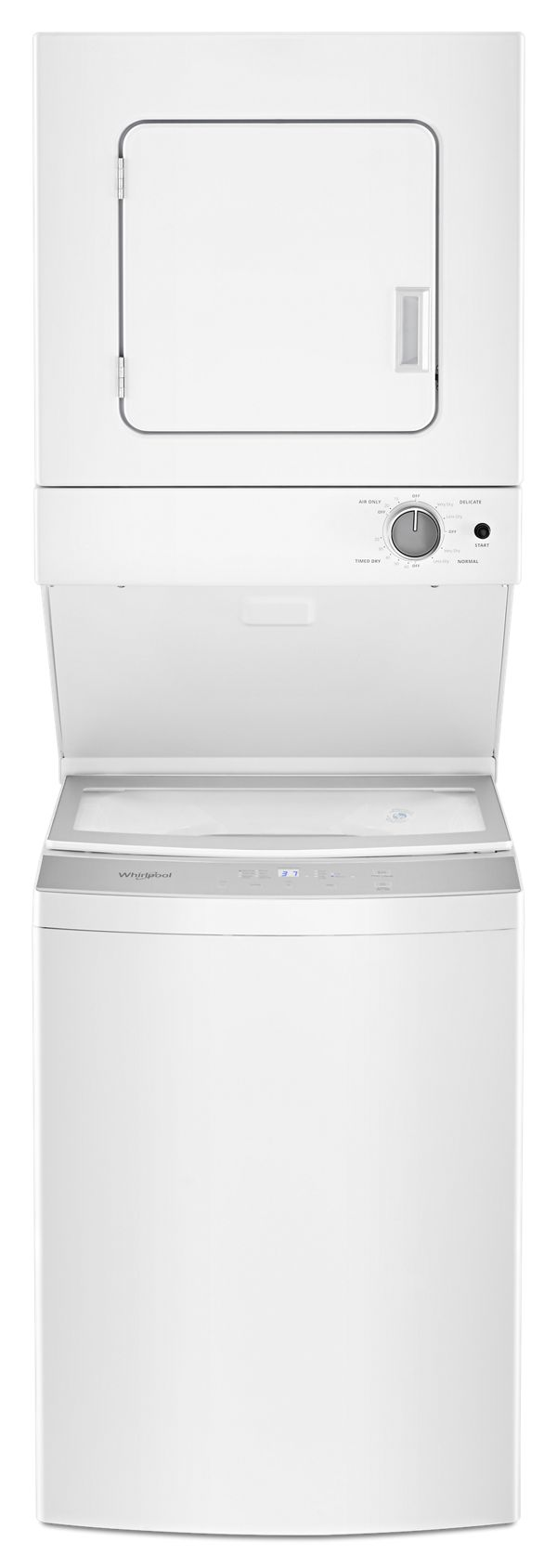 1.8 cu.ft I.E.C. Electric Stacked Laundry Center 6 Wash cycles and AutoDry™