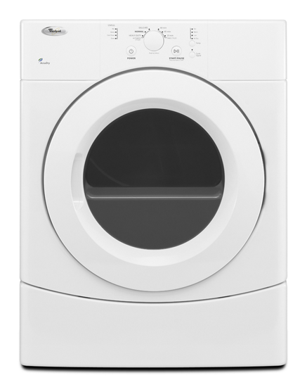 Electric Dryer With Accudry Drying System Whirlpool