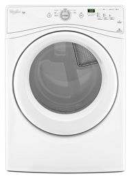 White Duet® 7 3 cu  ft  Front Load Electric Dryer with Advanced