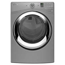 7.4 cu. ft. Duet® Steam Dryer with Wrinkle Shield™ Plus Option with Steam