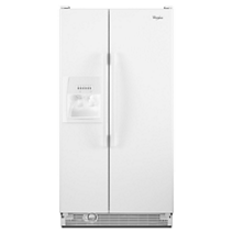 25 Cu Ft Side By Side Refrigerator With Full Width
