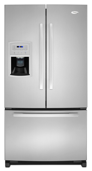 36 Inches Wide French Door Refrigerator With External Ice And Water