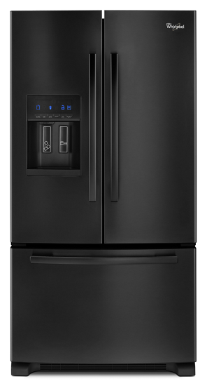 Gold 26 Cu Ft French Door Refrigerator With Accu Chill Whirlpool