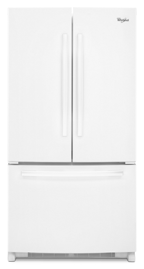 25 Cu Ft Gold French Door Bottom Mount Refrigerator With Energy