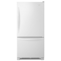 33-inches wide Bottom-Freezer Refrigerator with SpillGuard™ Glass Shelves - 22 cu. ft
