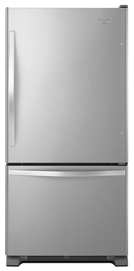 30 Inches Wide Bottom Freezer Refrigerator With Spillguard Glass