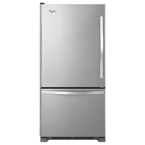 Whirlpool® 19 cu. ft. Bottom-Freezer Refrigerator with Freezer Drawer