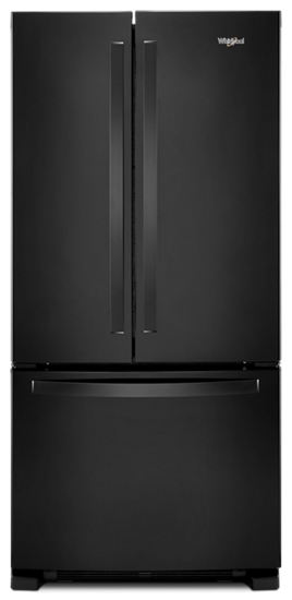 33 Inch Wide French Door Refrigerator 22 Cu Ft Whirlpool