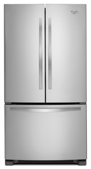 36 Inch Wide French Door Refrigerator With Frameless Glass
