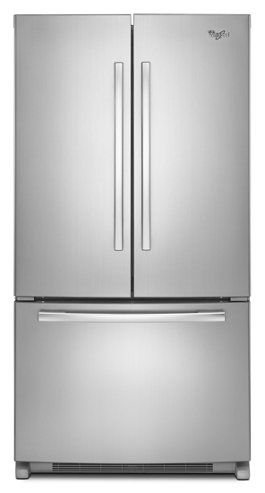 Whirlpool 25 Cu Ft French Door Refrigerator With Interior Water