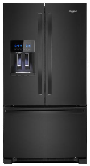 36 Inch Wide French Door Refrigerator 25 Cu Ft Whirlpool