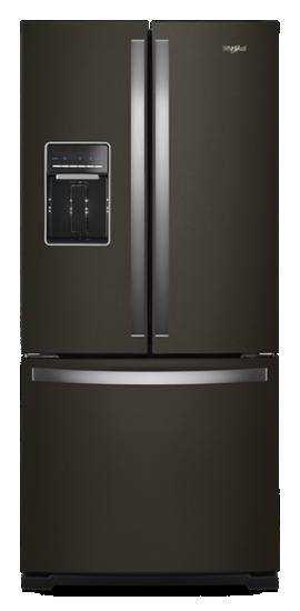 30 Inch Wide French Door Refrigerator 20 Cu Ft Whirlpool