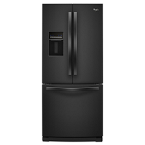 30 Inch Wide French Door Refrigerator With Exterior Water Dispenser   19.7  Cu. Ft