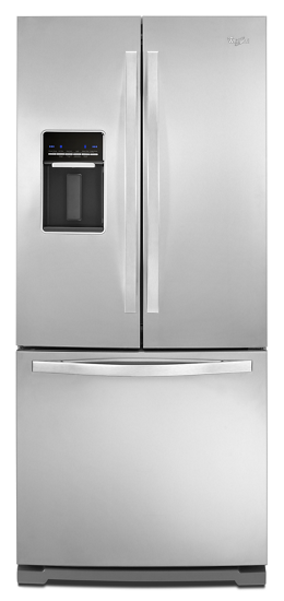Whirlpool 196 Cu Ft French Door Refrigerator With Exterior Water