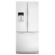 Réfrigérateur à portes françaises de 30 po Whirlpool® avec distributeur extérieur