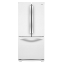 Réfrigérateur à portes françaises de 30 po Whirlpool® à capacité accrue