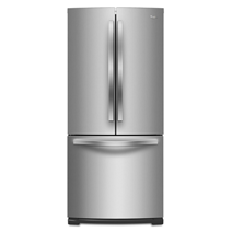 Whirlpool® 19.6 cu.ft. French Door Refrigerator with More Usable Capacity