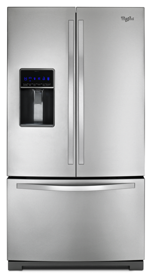 36 Inch Wide French Door Refrigerator With Microedge